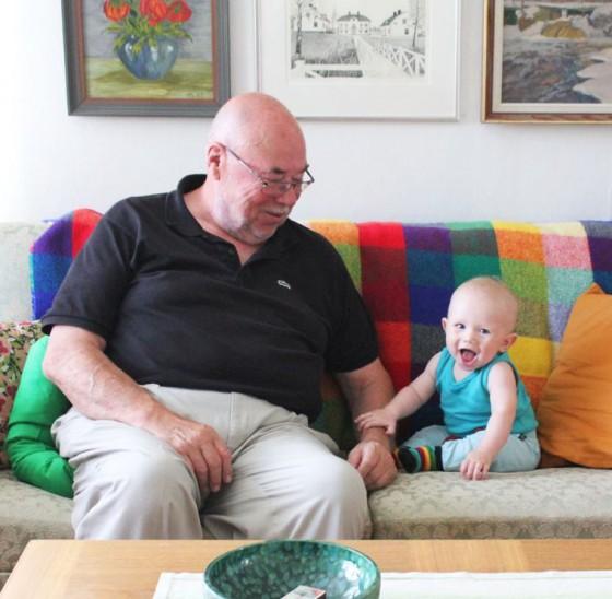 Morfar och Frank